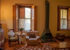 Homestead - lounge fireplace